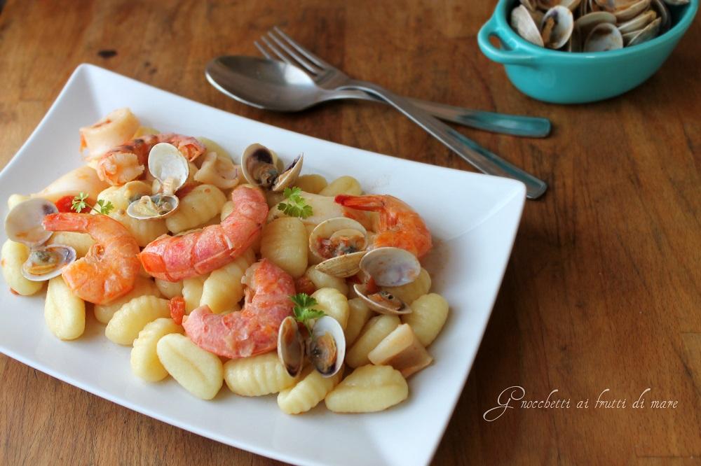 Gnocchetti freschi ai frutti di mare