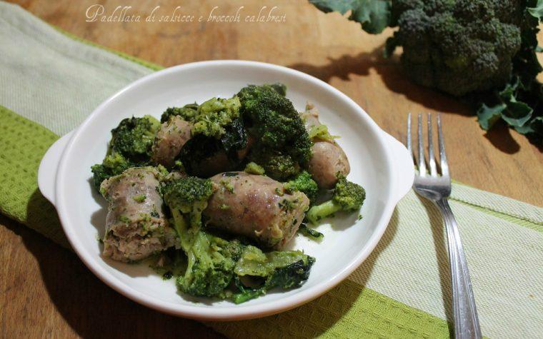 Padellata di salsicce e broccoli calabresi