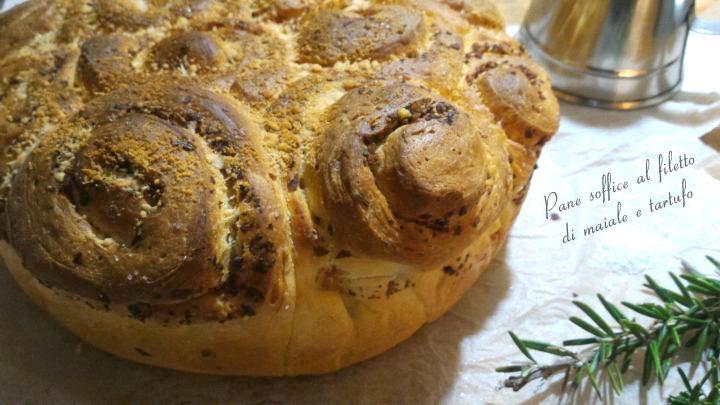 Pane soffice al filetto di maiale e tartufo