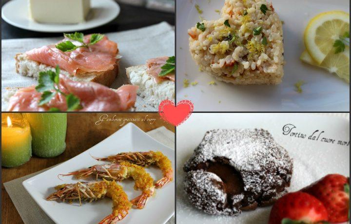Cena romantica con menù di pesce