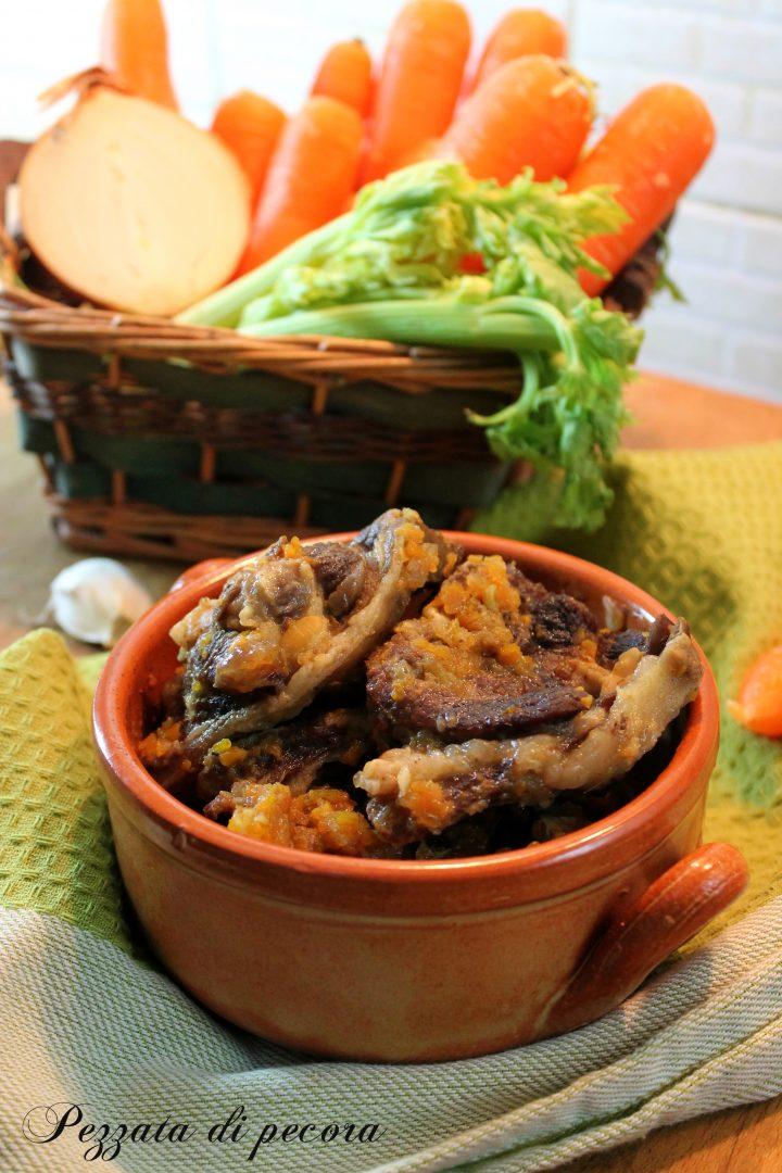 Pezzata di pecora - ricetta molisana
