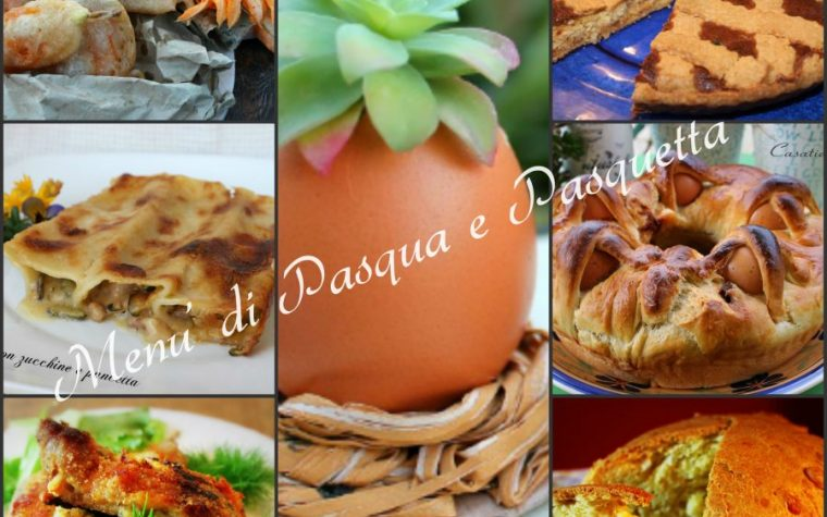 Menù di Pasqua e Pasquetta e ricette tradizionali