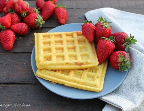 Cialde morbide (waffle)