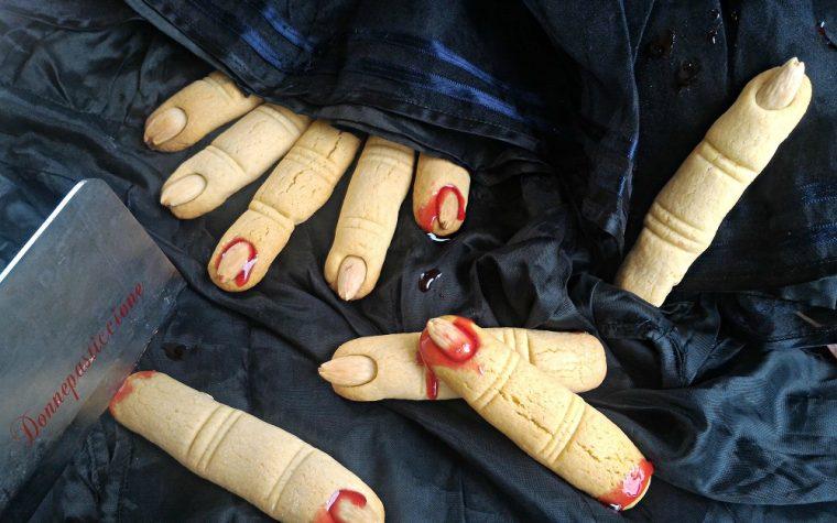 Biscotti dita di strega