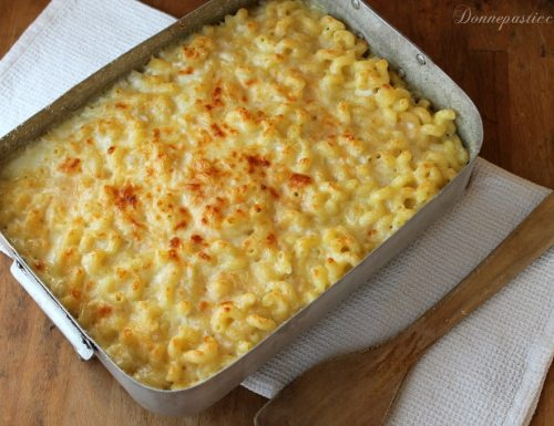 Macaroni and cheese – maccheroni al formaggio