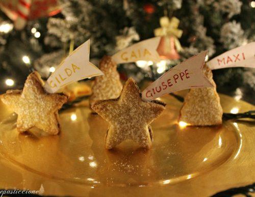 Segnaposto natalizi di pasta frolla