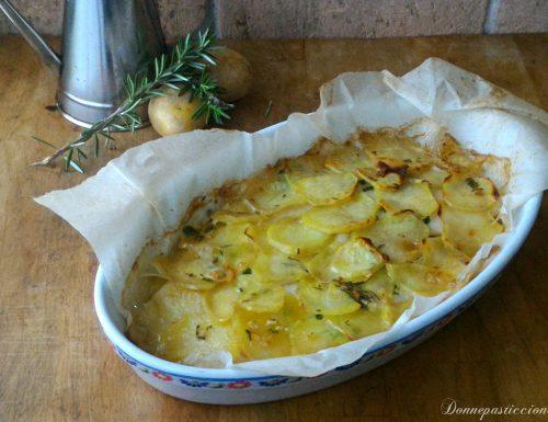 Platessa al forno in crosta di patate