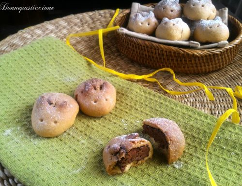 Coniglietti di pasta frolla e Nutella