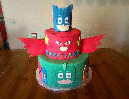 Torta PJ Masks – Super pigiamini