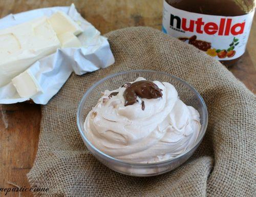 Crema al burro alla Nutella