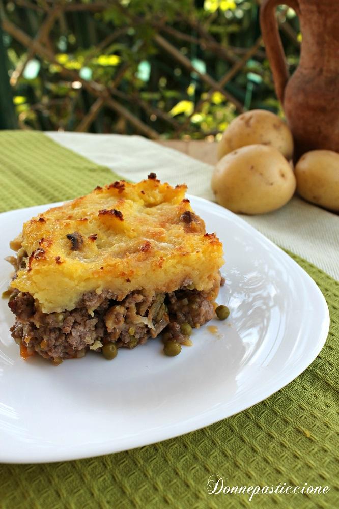 pasticcio di carne e patate o cottage pie