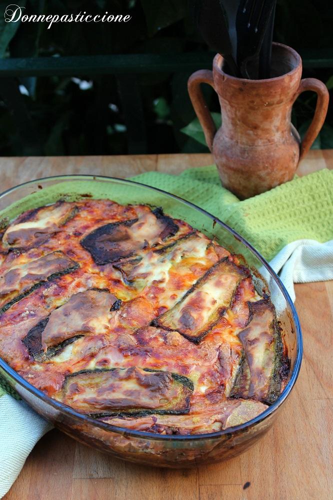 sformato bianco di zucchine e prosciutto cotto