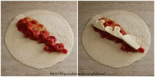 tortillas ripiene al gusto pizza