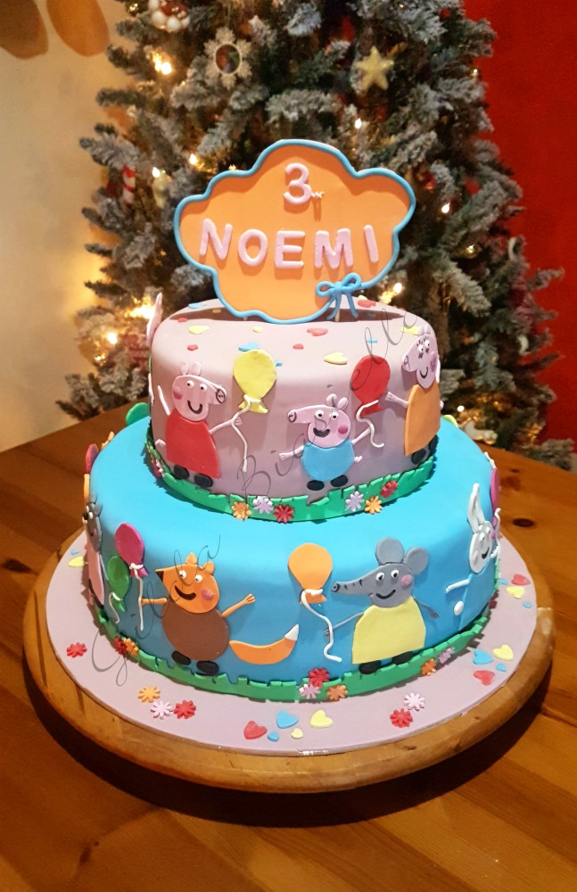 torta Kinder Peppa Pig & friends