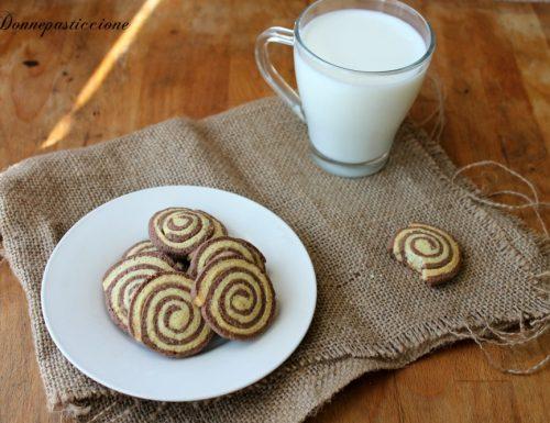 Girelle doppio gusto vaniglia e cioccolato