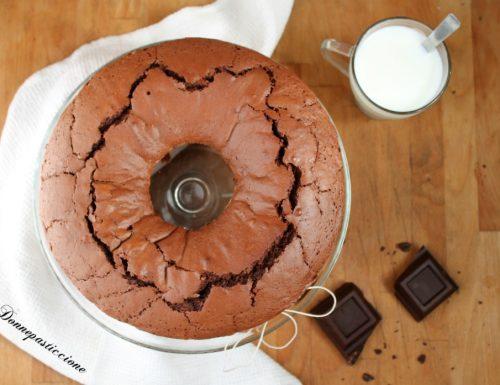 Ciambellone al cioccolato fondente e yogurt