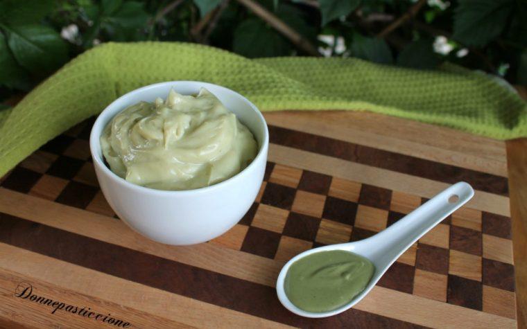 Crema pasticcera al pistacchio semplice