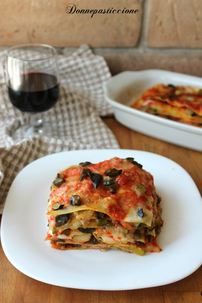 lasagne alle verdure estive