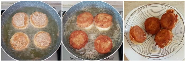 formaggio impanato e fritto