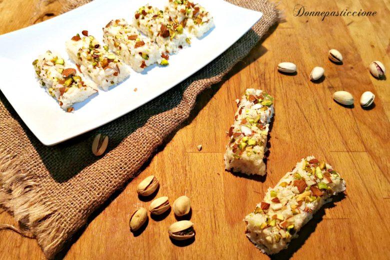 Barfi al cocco – Ricetta indiana