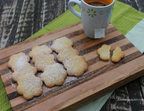 Biscotti al burro – ricetta semplice