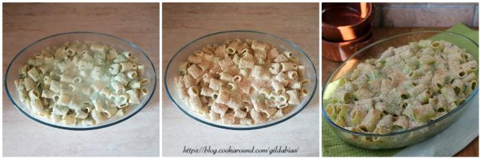 pasta gratinata al forno con i broccoli
