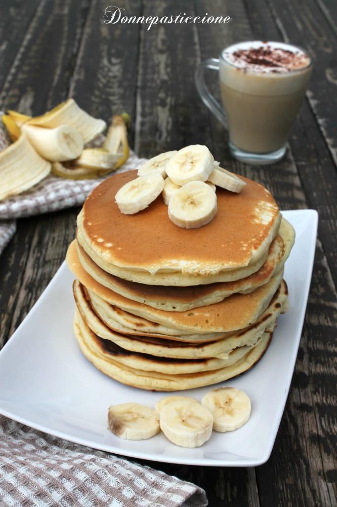 pancakes allo yogurt senza burro