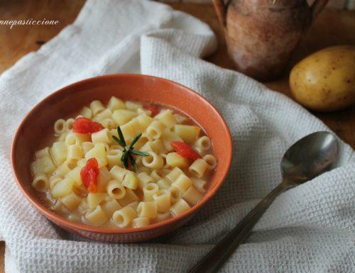 Pasta e patate semplice