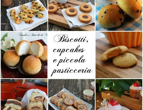 Ricette di biscotti, cupcakes e piccola pasticceria