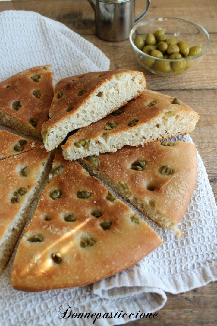 focaccia sofficissima alle olive