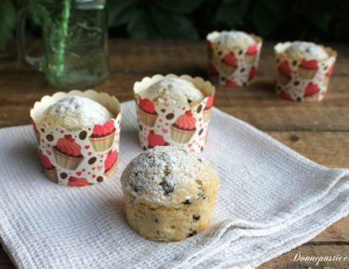 Muffins al latte di mandorle senza uova