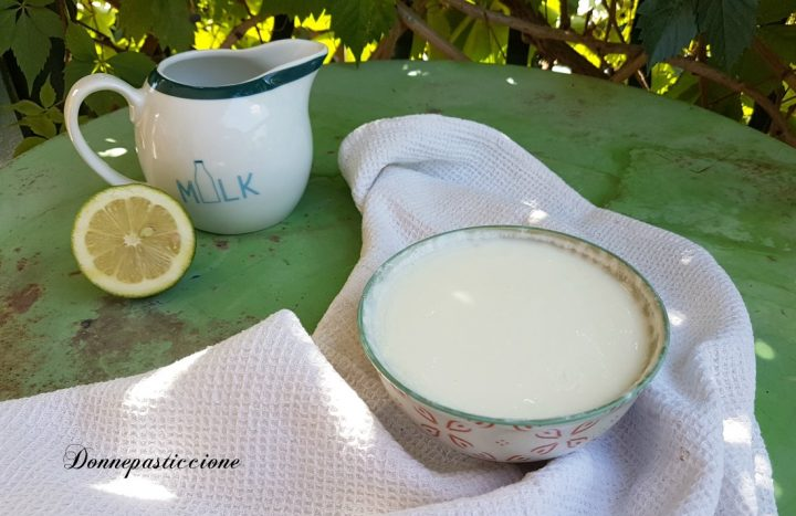 come fare il latticello con lo yogurt in casa
