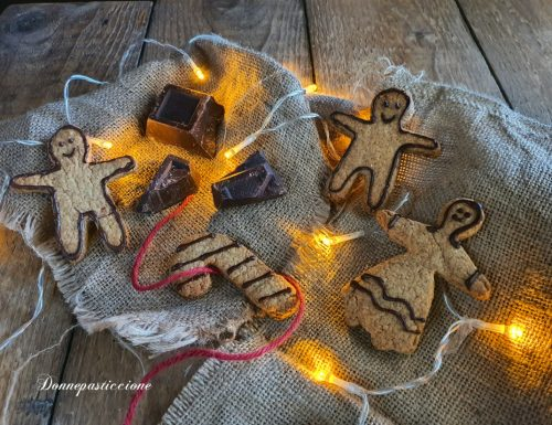 Biscotti vegani natalizi speziati