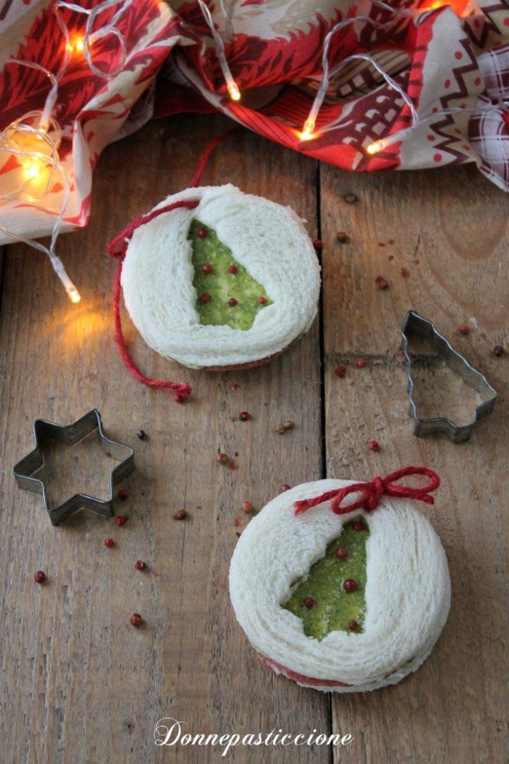 tramezzini sfiziosi di Natale