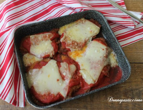 Chicken parmesan – pollo alla parmigiana