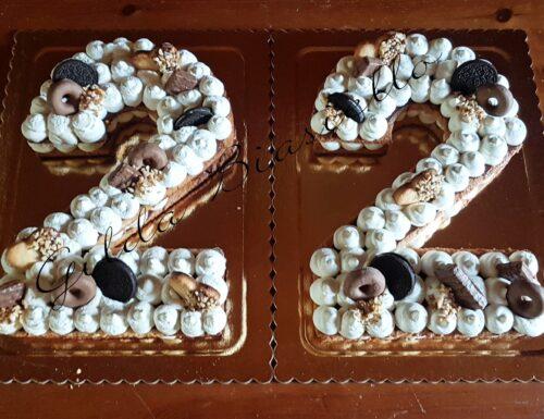 Cream tart numero 22 alla Nutella
