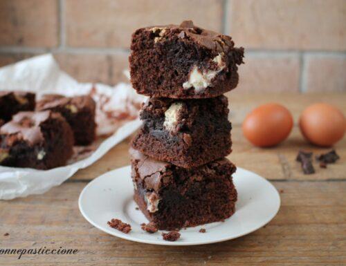 Brownies di Pasqua con ovetti di cioccolato