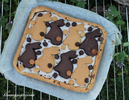 Crostata di Pasqua con ricotta e Nutella
