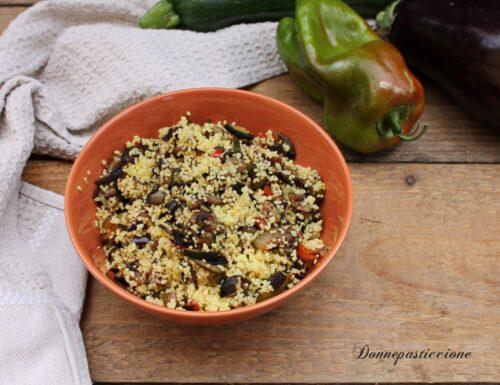 Couscous con verdure speziato – ricetta leggera