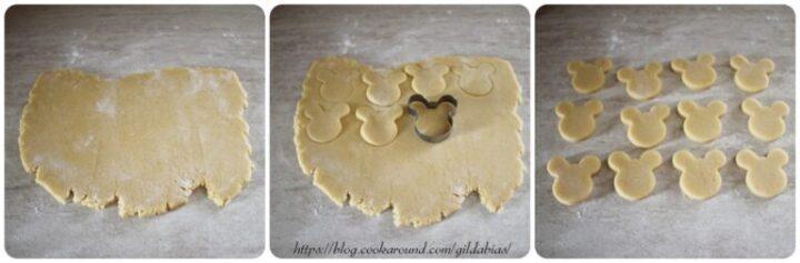 biscotti Baby Topolino con pasta di zucchero