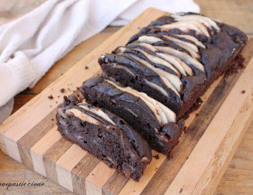 Plumcake al cioccolato e pera