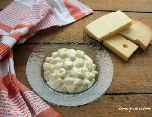 Gnocchi cremosi ai 4 formaggi