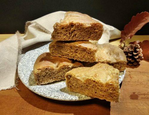 focaccia con farina ai 7 cereali  metodo Bimby