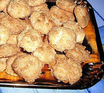 biscottini al cocco friabili fatti col bimby