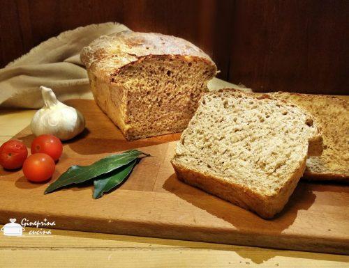 pan bauletto con farina ai 7 cereali  metodo Bimby