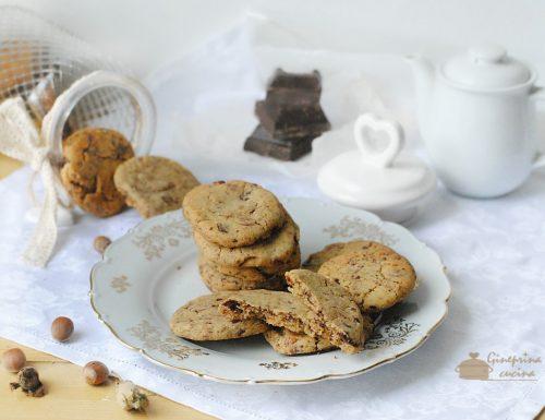 biscottini al cioccolato americani cookies
