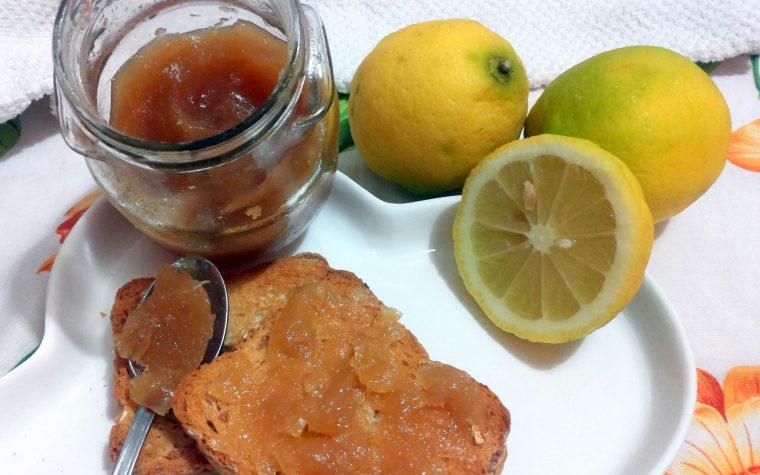 marmellata di limoni fatta con il bimby