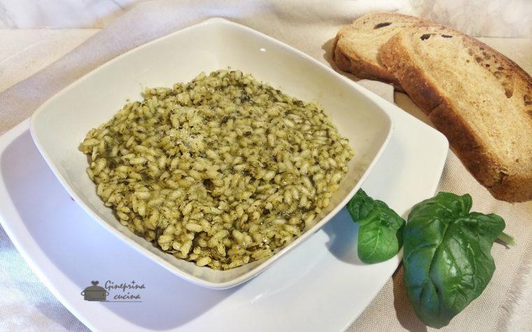 risotto agli spinaci e fontina