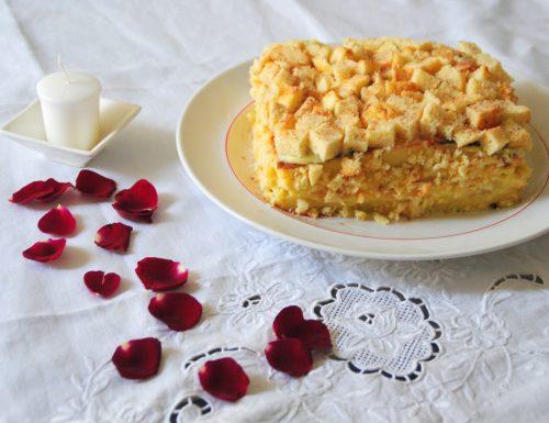 torta con pan di spagna e crema bimby