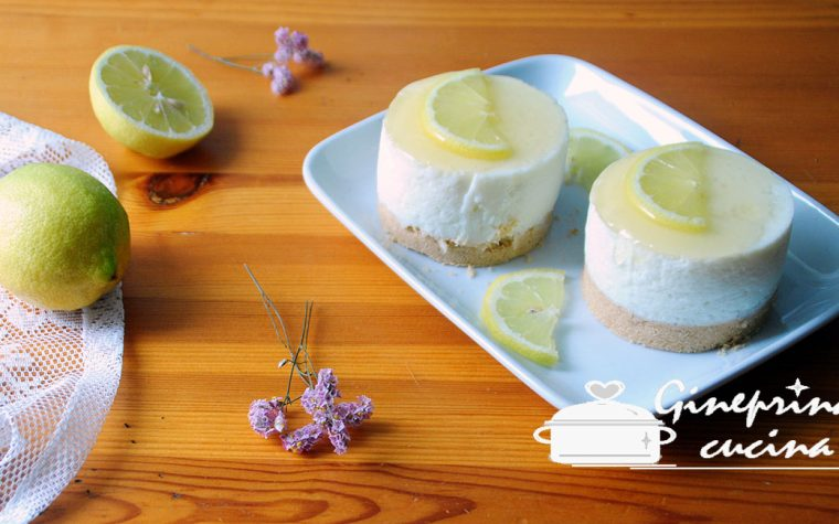 mini cheesecake al limone light